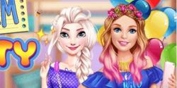 Barbie ile disney partisi