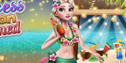 Elsa hawaii tatilinde