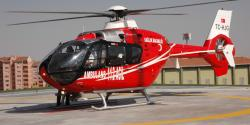Helikopter ambulans 3d