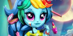 Rainbowdash moda kızı